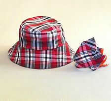Bucket Hat and Face Mask Matching Set (Multiple Colors)