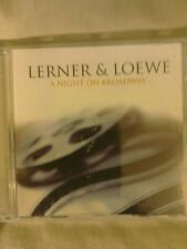 CD -Lerner & Loewe-A Night On Broadway-Signature no.signcd2416
