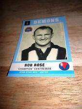 Bob Rose-'Champion' Centreman-Nyah Nyah West United-2014 CMFL Card.