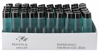 Mason & Miller Refreshing Shower Gel - 20ml bottle - Hotels & Guest Houses Size