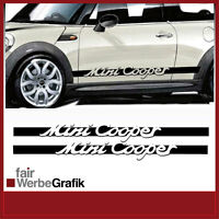 #159 Dekor// Mini Cooper Aufkleber// Sticker// Seitenbeschriftung