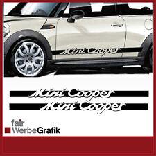 Aufkleber /  Sticker / Seitenbeschriftung / Dekor / Mini Cooper / #055