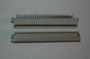 AMP 650889-5 96-Position 3x32 2.54MM Solder Connector Quantity-3