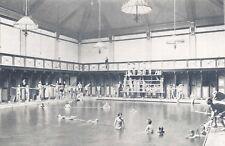 Nostalgia Postcard Learning to Swim c1900 London School Swimming Assoc #N335