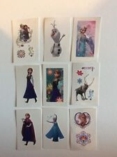 12 Disney Frozen Temporary Tattoos  Girls Party Loot Bag Stocking Fillers