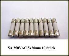 SPT Sicherung Ceramic T 5A 250V Träge 5x20mm Feinsicherung Fuse 10 Stück