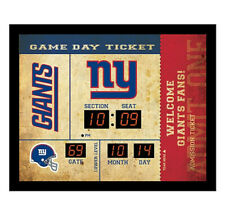 New York Giants scoreboard LED clock bluetooth speaker date time 20x2x16