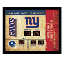 New York Giants scoreboard LED clock bluetooth speaker date time 20x2x16