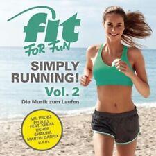 FIT FOR FUN - SIMPLY RUNNING! - DIE MUSIK ZUM LAUF 2 CD NEU