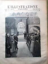 L'Illustrazione Italiana del 19 Maggio 1895 Cuba Campos Eritrea Messedaglia Arte