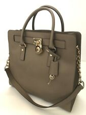 Michael Kors * Hamilton NS Large Leather Tote Bag DK Dune COD PayPal