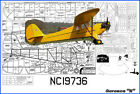 """Model Airplane Plans (FF): Aeronca """"K"""" 54"""" 1/8 Scale Rubber-Powered (Comet)"""