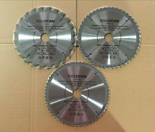 3PC TCT Drop Saw/Compound Mitre Saw Blade 210mm 24T,48T,60T Bore 30/25.4/16/10