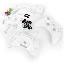 Full Housing Shell Case Kit Parts for Xbox 360 Wireless Controller -White