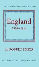 England, 1870-1914