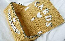 Suitcase wedding card box Rustic wedding envelope box Vintage wedding card holde