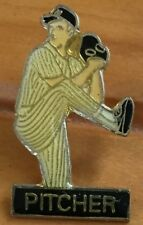 Baseball Softball Pitcher - ball - lapel tie pin badge hat cap bat # HP1328