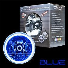 """ORACLE 5.75"""" Sealed Beam Single Headlight + ORACLE Pre-Installed Blue SMD Halo"""