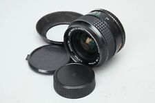 Minolta MC W.Rokkor 24mm f/2.8 f 2.8 Lens for MD Mount, Manual Focus MF Lens