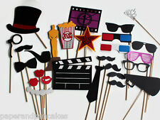 Hollywood Photo Booth Props. Bridal Movie Party Photobooth