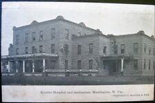Huntington West Virginia ~ 1907 Kessler Hospital and Sanitarium