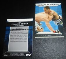 Frankie Edgar 2011 Topps Moment of Truth Elite Skills UFC Card #ES-FE Grappling