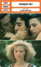 FICHE CINEMA : POURQUOI PAS - Frey,Murillo,Serreau 1977 Why Not !