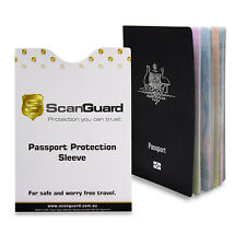 ScanGuard Passport RFID Blocking Secure Sleeve