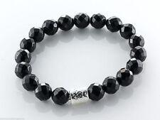 Gefädelte Echte Edelstein-Armbänder mit Onyx für Damen