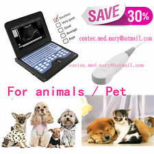 Veterinary VET USE Ultrasound Scanner Machine+5.0 mhz micro convex probe,SALE,CE