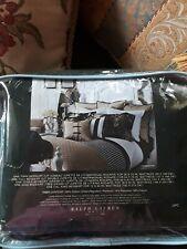 Ralph Lauren Charleston King Black Chino King Bed Skirt New 1st Quality