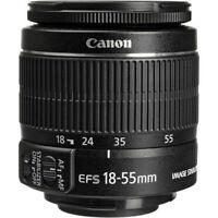 Canon 18-55mm IS Lens for EOS Rebel T5 T6 T3i T5i T6i T7i 60D 70D 80D 7D XS 100D