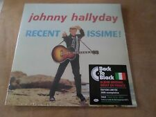 "33 Tours JOHNNY HALLYDAY ""Recentissime"" Edition limitee 2000 exemplaires ITALIE"