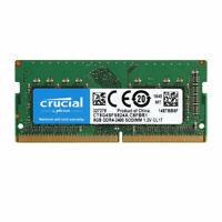 Crucial 8GB DDR4 PC4-19200 2400 MHz Laptop Sodimm 260-Pin Memory Ram 1x 8GB