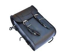Sacoche sac en cuir pour sissi bar Simple Modéle ( moto custom trike harley