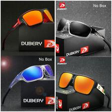 DUBERY Polarized Sunglasses Square Cycling Sport Driving Fishing Women/Men
