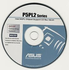 ASUS P5PL2  Motherboard Drivers Install  M650