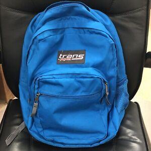 "Trans by Jansport JS00TM60 17"" SuperMax Backpack LapTop Compartment Blue"