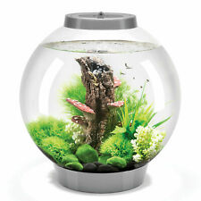 Oase Biorb Classic Round Fish Tank + 30 MCR LED Multi-coloured Light -Silver VGC
