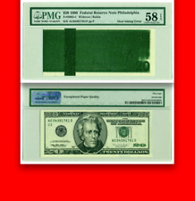 $20 1996 Pmg 58 Flood Test Note ☗ Infrared Strip █ $6,000 Apr █ Twenty Dollars ♛