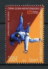 Montenegro 2017 MNH Judo European Championship 1v Set Sports Stamps