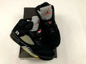 Nike Air Jordan 5 Metallic Mens Size 9.5 2011 Retro 136027 010