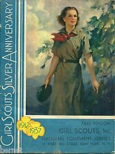 VINTAGE 1937 GIRL SCOUT EQUIPMENT CATALOG - FALL EDITION