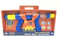 Foam Ball Blaster Gun, Target Game, Pump Action, A to Z, SWAT Team