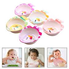 Baby Bowl Cute Fish Shape Feeding Bowls Dishes Food Grade Tableware Kids Cutlery