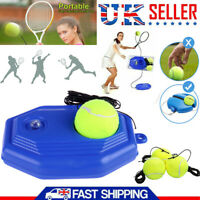 Racket Ball Trainer Tennis Practice Base Elastic Tennis Exercise Training Device