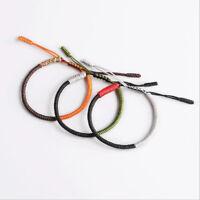 Fashion Lucky Handmade Buddhist Knots Rope Bracelet Tibetan Adjustable Unisex
