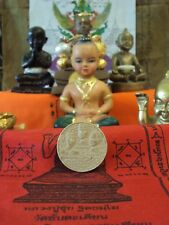 LP Tuad LP Toh Kruba Srivichai Back 3 King Powerful Thai Buddha Real Amulet