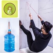 6x Fuerte Transparente Ventosa ganchos de pared percha para cocina y baño