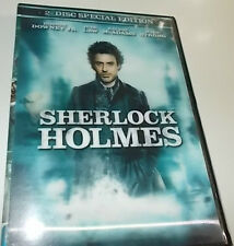 SHERLOCK HOLMES 2 DISC SPECIAL EDITION DVD LIKE NEW HOLOGRAM / LENTICULAR COVER